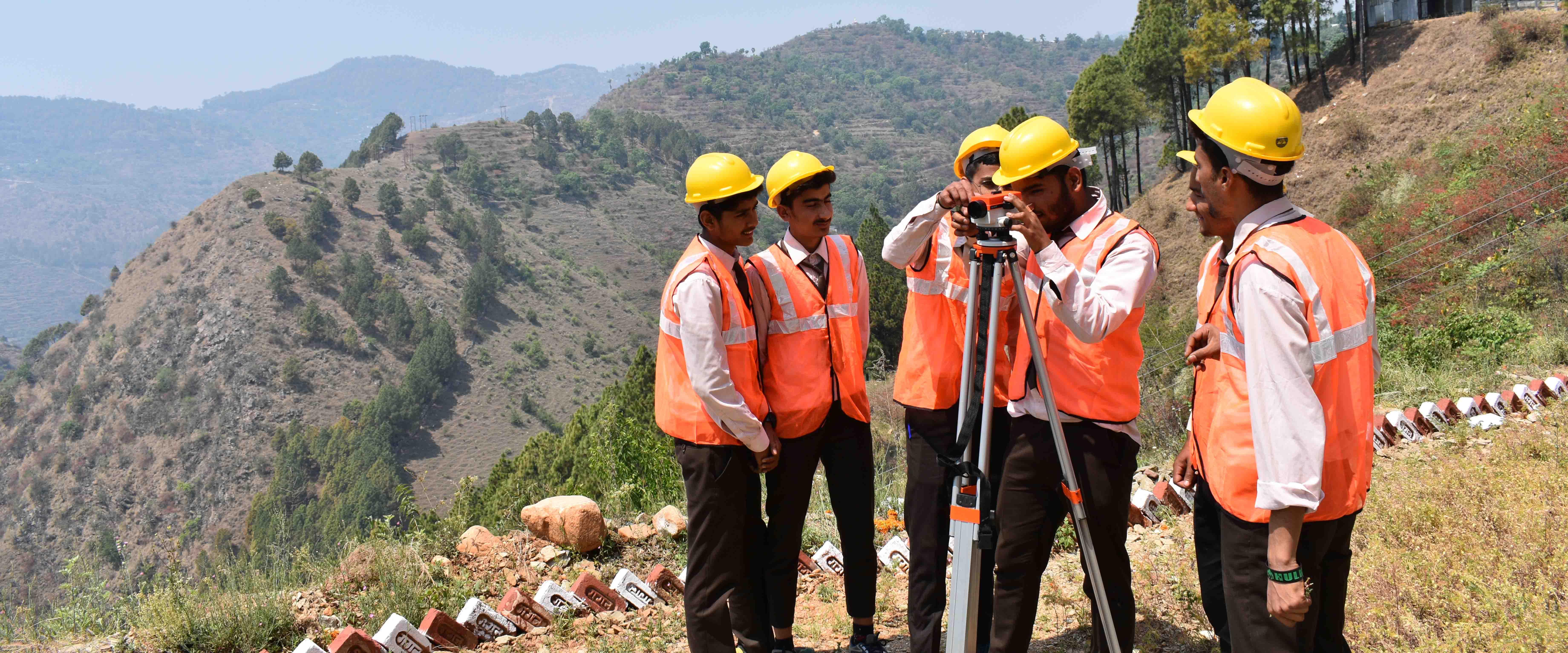Himalayan Garhwal University Campus