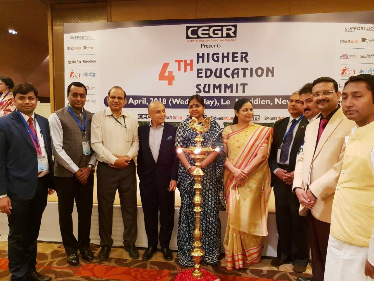 HGU welcoming the participants during the Fourth Higher Education Summit