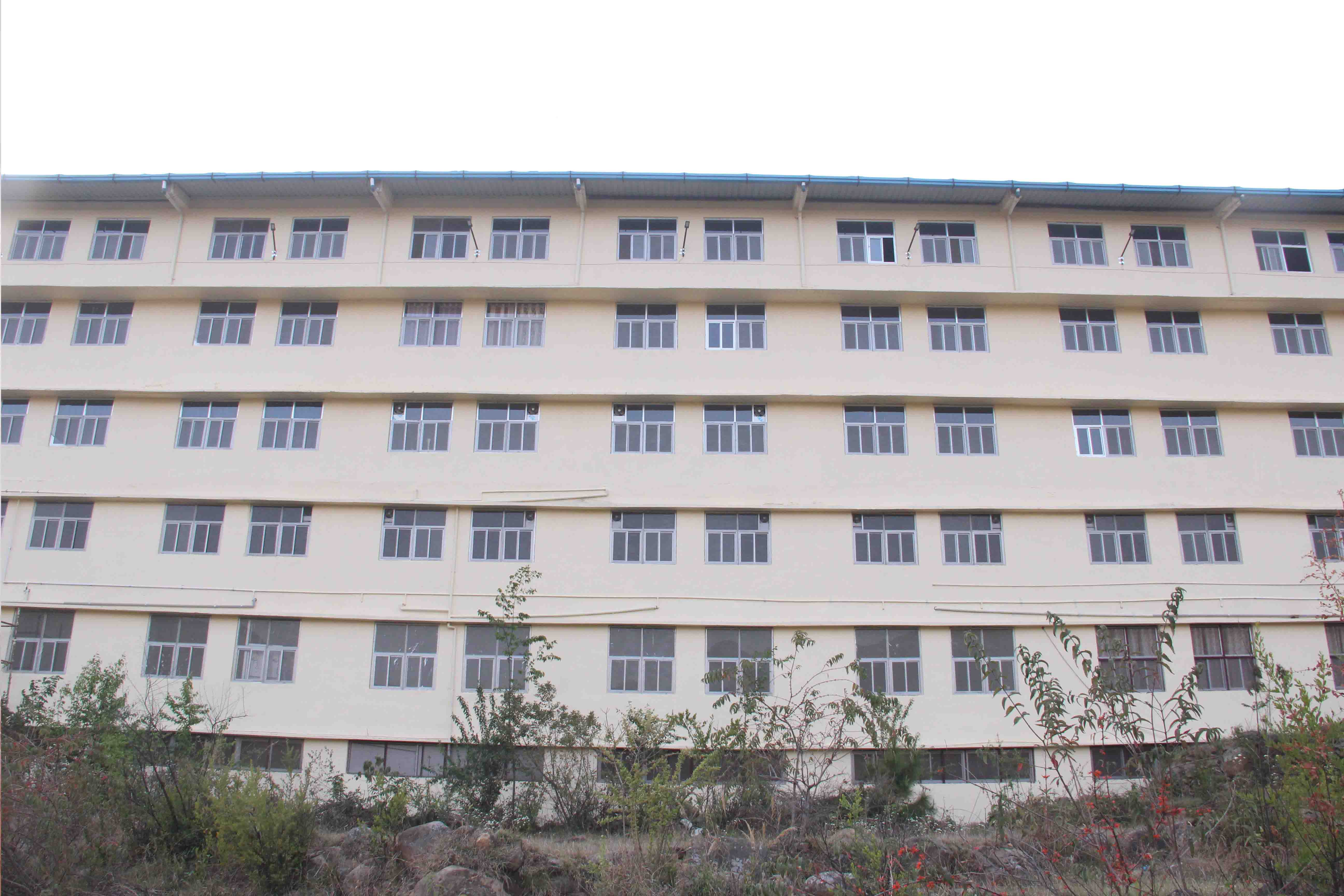 Students of Himalayan Garhwal University performing dance during function