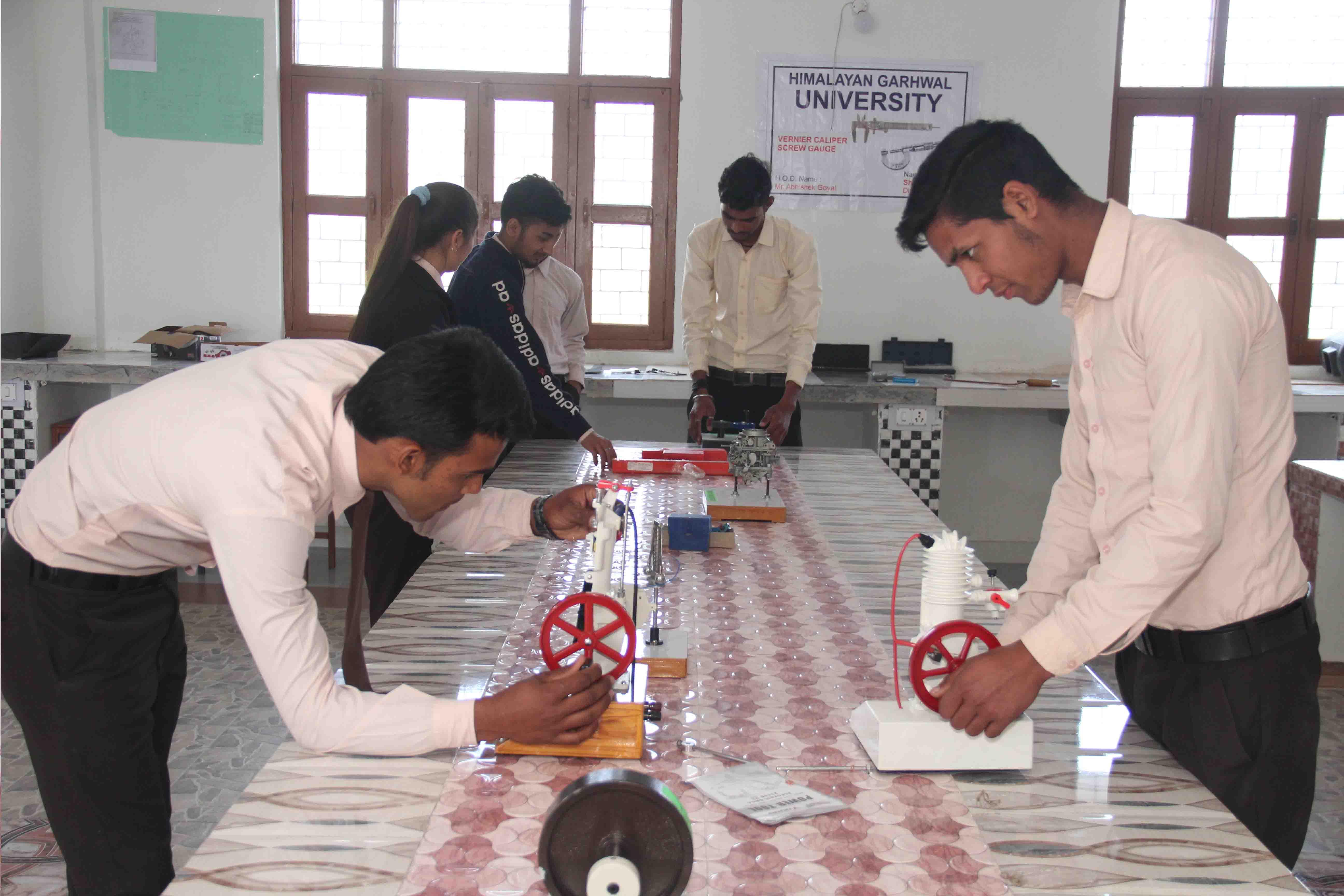 Prof. N K Sinha, Vice-Chancellor, Himalayan Garhwal University at University Campus